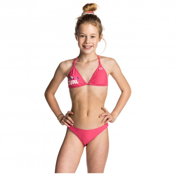 Rip Curl Big Mama Candy Stripe Tri Set Bikini Kids Buy