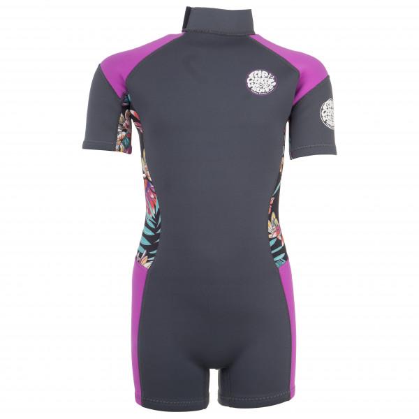 Rip Curl - Kid's Junior Girl Dawn Patrol Springsuit S/S - Wet suit