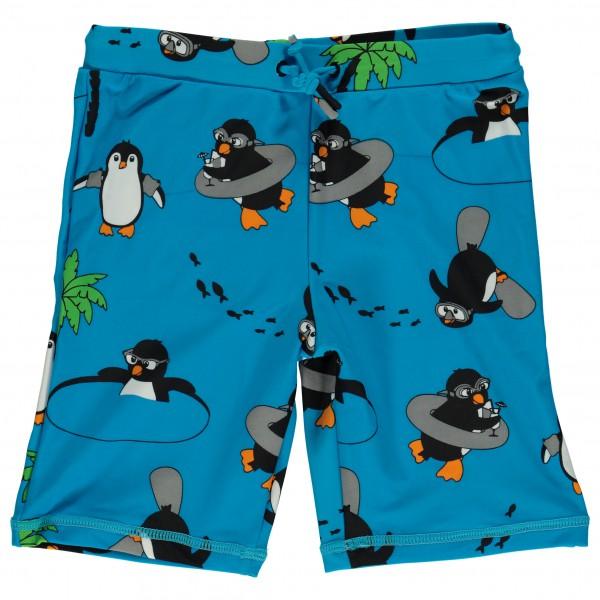 Smafolk - Kid's UV50 Swimpants With Long Leg And Penguin - Swim brief