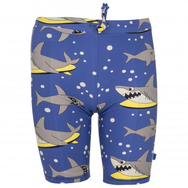 Smafolk - Kid's UV50 Swimpants With Long Leg And Shark - Uimahousut