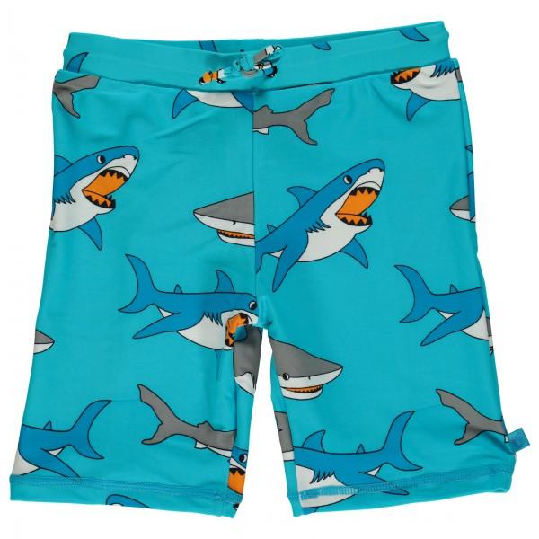 Smafolk - Kid's UV50 Swimpants With Long Leg And Shark - Swim brief