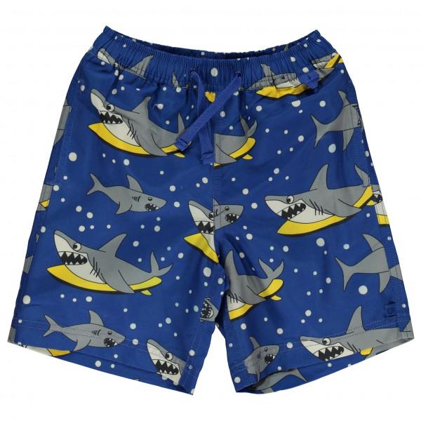 Smafolk - Kid's UV50 Swimpants With Lose Fit And Toucan - Badbyxa