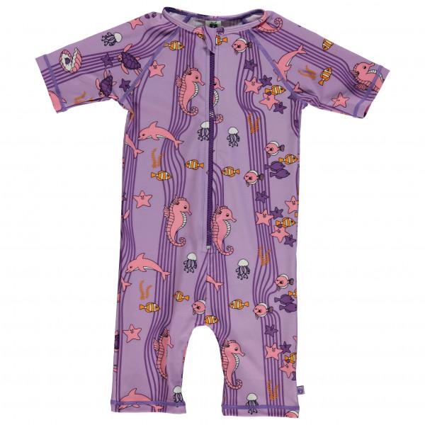 Smafolk - Kid's UV50 UV Suit Short S/L and Ocean - Lycra