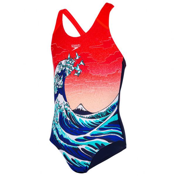 Speedo - Kid's Placement Allover Splashback - Swimsuit