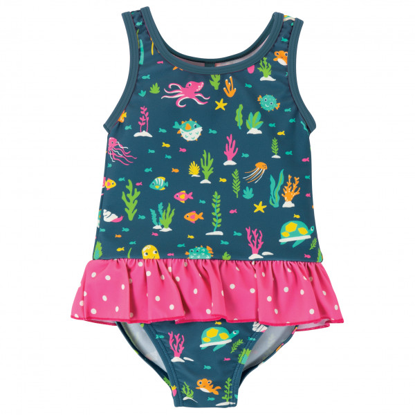 Frugi - Kid's Little Coral Swimsuit - Baddräkt