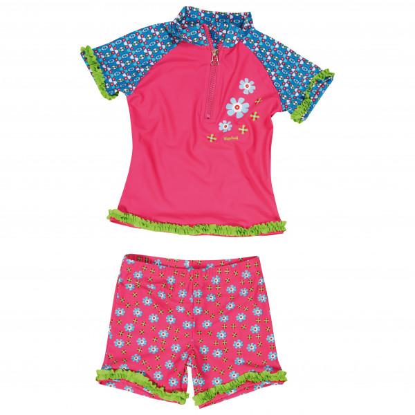 Playshoes - Kid's UV-Schutz Bade-Set Blumen - Lycra