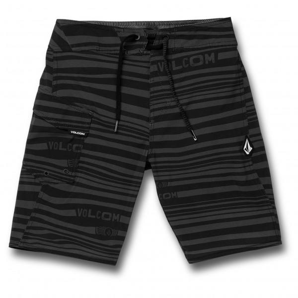Volcom - Kid's Logo Stripe Mod - Boardshort
