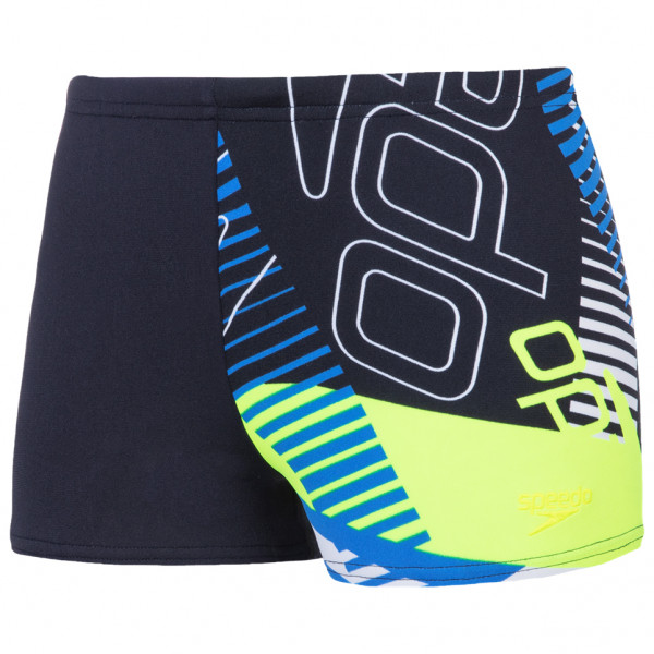 Speedo - Kid's Allover 1 Leg Aquashort - Zwembroek