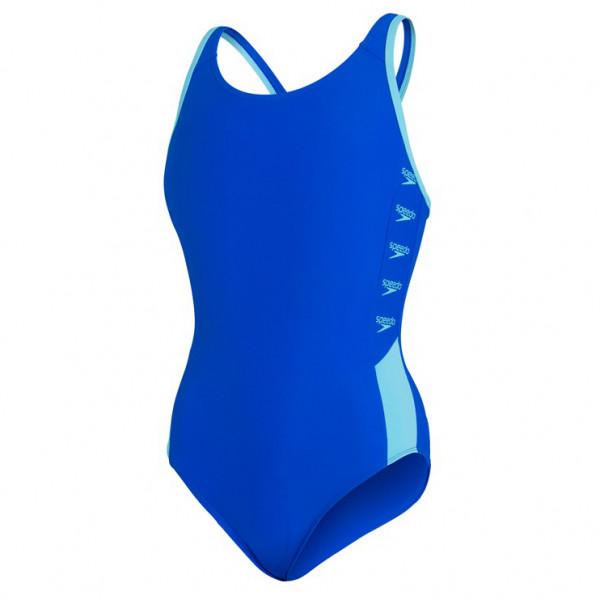 Kid's Boom Logo Splice Muscleback - Swimsuit