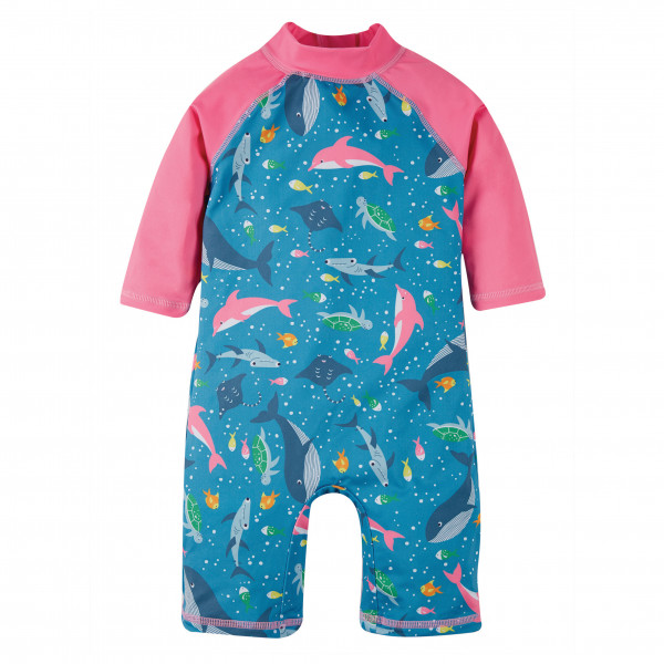 Kid's Little Sun Safe Suit - Lycra