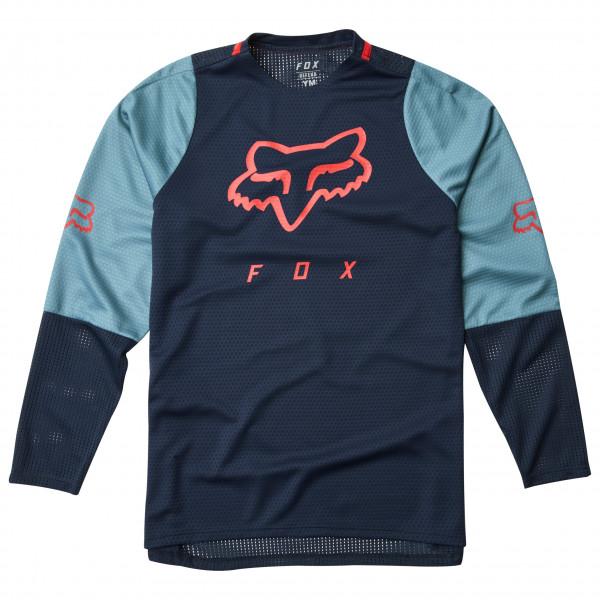 FOX Racing - Kid's Defend L/S Jersey - Cykeltrikå