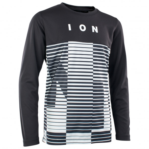 ION - Kid's Tee L/S Scrub AMP Mesh_ine Youth - Cycling jersey