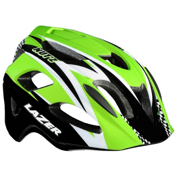 Lazer - Kid's Helm Nutz Race Green Edition - Radhelm