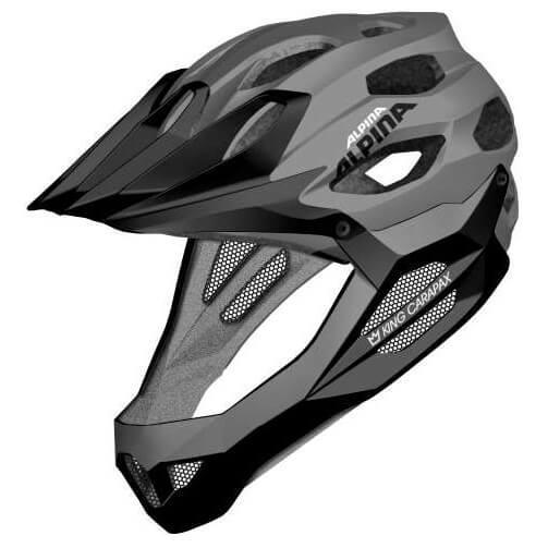 Alpina - King Carapax - Bicycle helmet