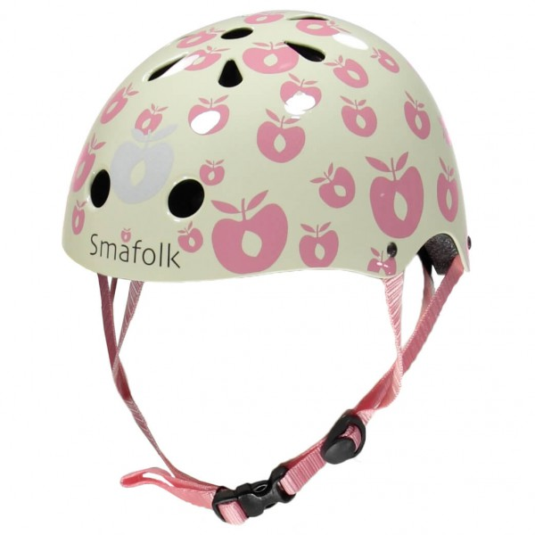 Smafolk - Kid's Bicycle Helmet With Apples - Fietshelm