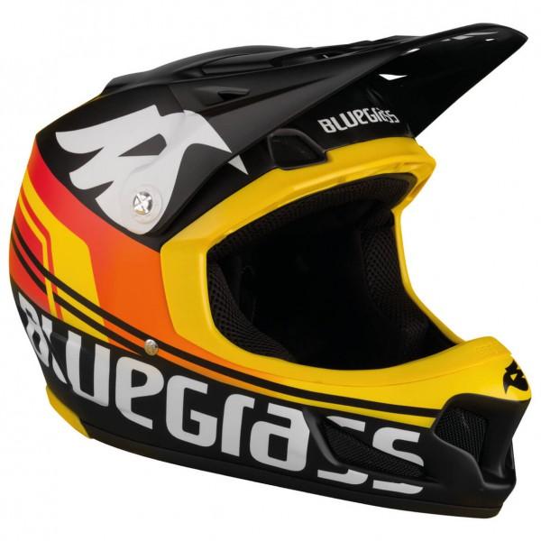 Bluegrass Brave Fullface Helmet - black / cyan / fluo yellow | Helmets