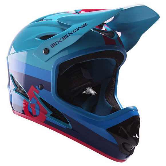 SixSixOne - Comp Fullface Helm - Bike helmet