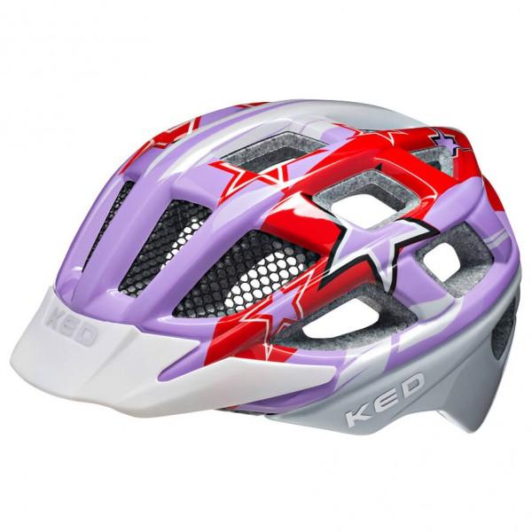 KED - Kid's Kailu Purple - Pyöräilykypärä