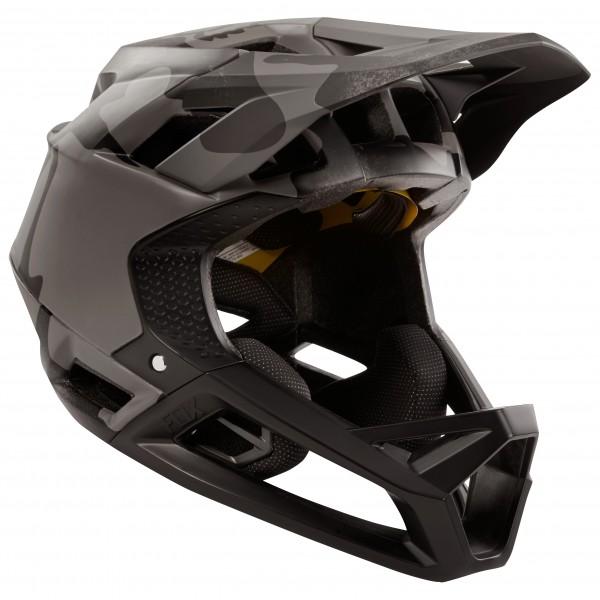 FOX Racing - Proframe Helmet Black Camo - Velohelm