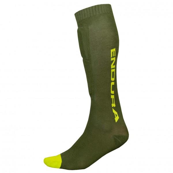 Singletrackschienbeinschoner Socken - Protector