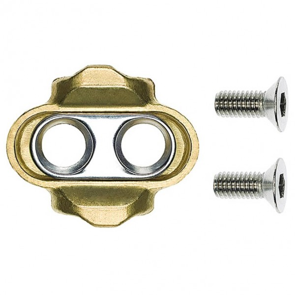 Crankbrothers - Premium Pedal Cleats Gold - Poljinlevyt