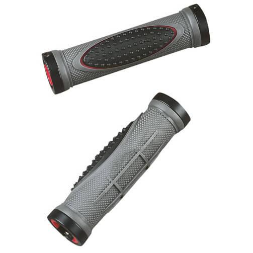 Mounty - Lenkergriffe Lock-Grips Pro Paar - Fahrradgriffe