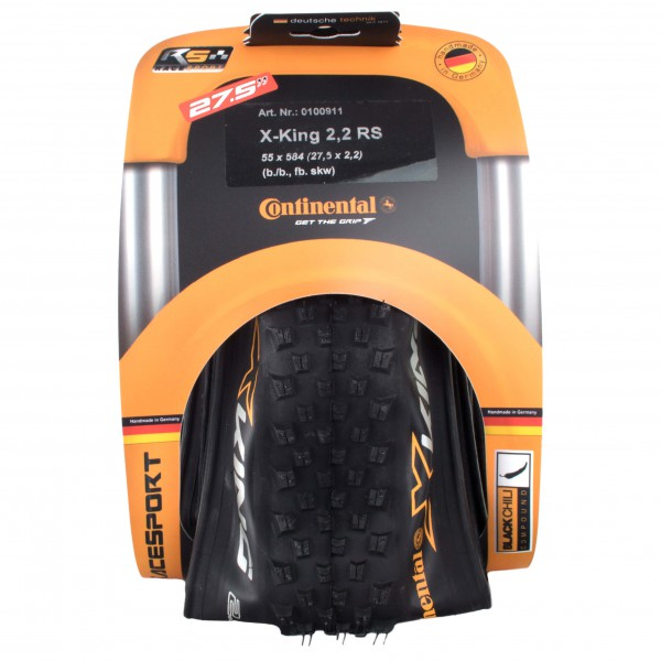 Continental X-King RaceSport 275'' x 2,2 - Cykeldæk køb online | Tyres