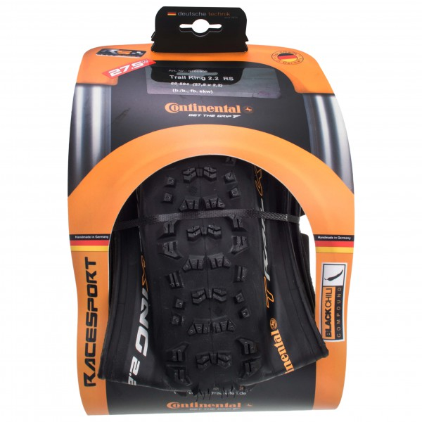 Continental - Trail King 27,5'' (55-584) Faltb. RaceSp. - Cyclocross-banden
