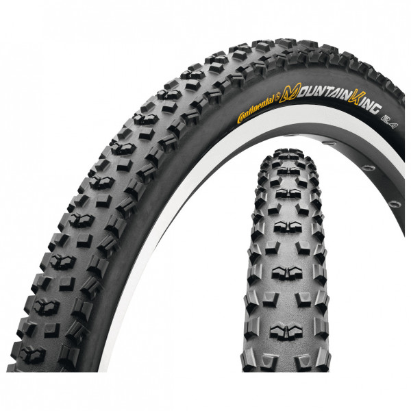 Continental - Mountain King II Protection 29 Folding Black Chili - Cykeldäck