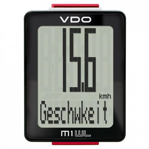 VDO - M1 WL - Fahrradcomputer