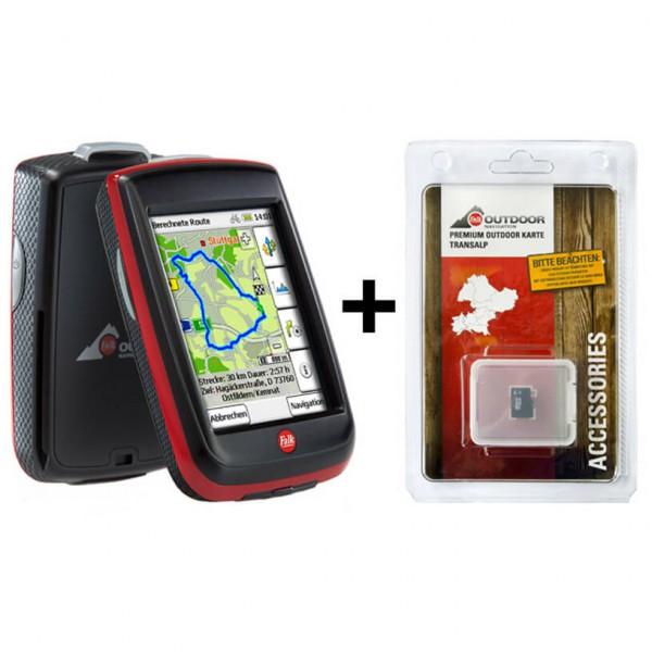 Falk - Ibex 32 Deu + Premiumkarte Transalp - GPS-Gerät