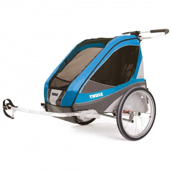 Thule - Chariot Corsaire 2 Sitzer - Remorques pour vélo