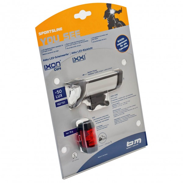 Busch & Müller - IXON Core + IXXI - Pack lampes LED