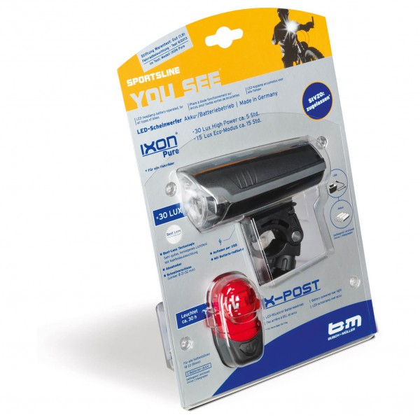 Busch & Müller - Pack lampes LED IXON Pure + IX-Post
