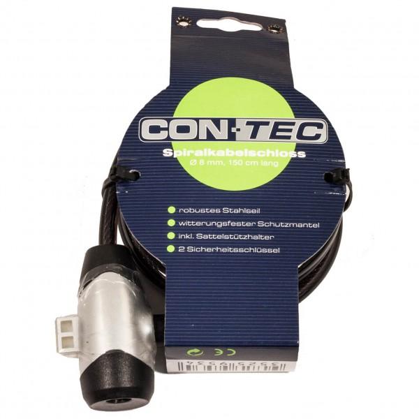 Contec - Spiralkabelschloss C-400 - Cykellås