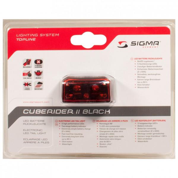 Sigma - Cuberider II - Rücklicht