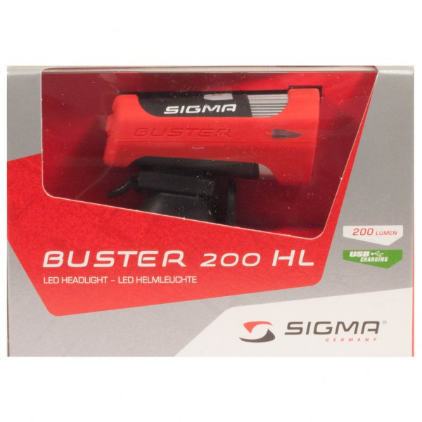 Sigma - Helmleuchte Buster 200 - Outdoor-valo