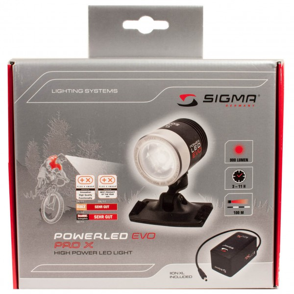 Sigma - Lampe pour casque Power LED Evo Pro X