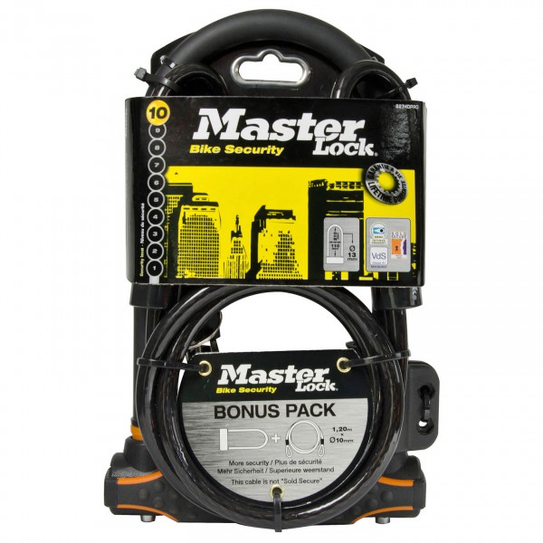 Master Lock - Bügelschloss 8274 - Pyörälukko