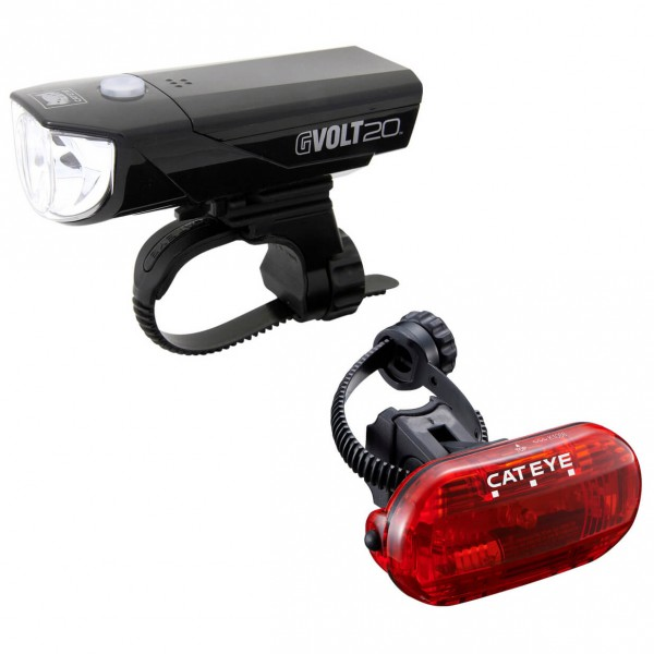 CatEye - Gvolt20/Omni3G EL350G/LD135G - Fahrradlampen-Set