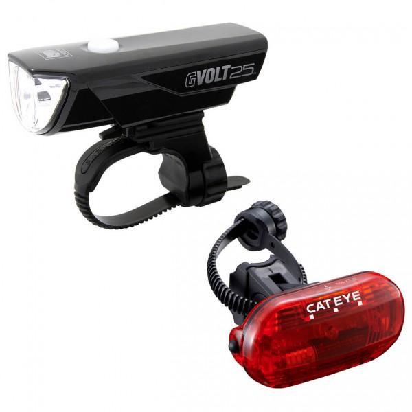 CatEye - Gvolt25/OMNI3G EL360GRC/LD135G - Fahrradlampen-Set