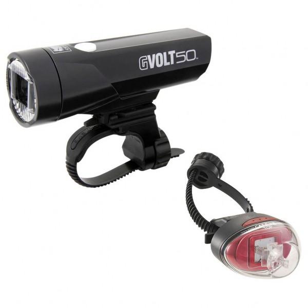 CatEye - Gvolt50/Rapid1G EL550GRC/LD611G - Fahrradlampen-Set