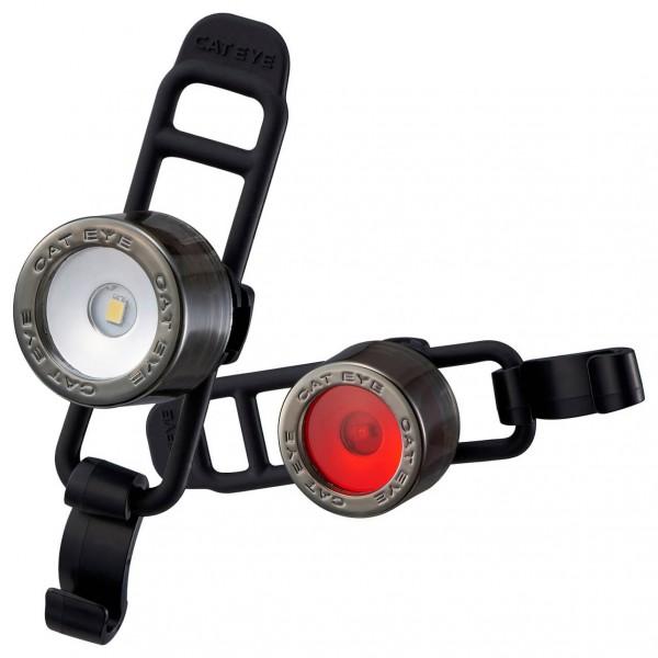 CatEye - Nima2 SL-LD135 Front & Back - Leuchten-Set