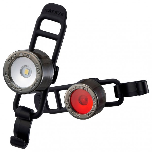 CatEye - Nima2 SL-LD135 Front & Back - Lichtenset