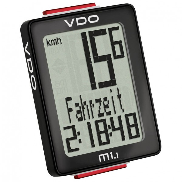 VDO M1.1 WR Fahrradcomputer (Kabel) - Cykelcomputer køb online | Cycle computers