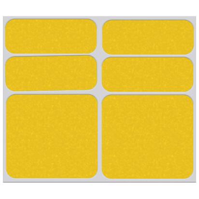 Shaman Racing - Reflective sticker set 6-Pack - Stickers