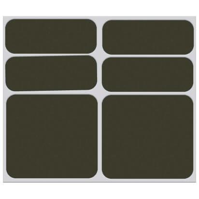 Shaman Racing - Reflective sticker set 6-Pack