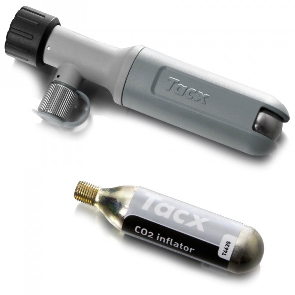 Tacx - CO2-Dosierer inkl. Patrone - CO2 pump