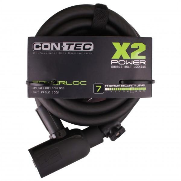 Contec - Spiralkabelschloss PowerLoc - Bike lock