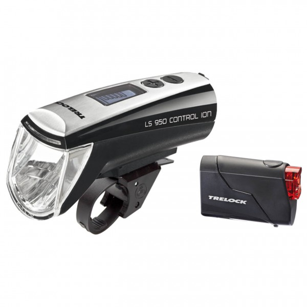 Trelock - Akkuleuchtenset LS 950/LS 720